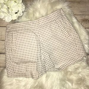 "J. Crew 5"" Polka Dot Printed Chino Shorts"